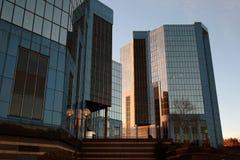 Κτίρια γραφείων Plaza Telford στο πόλης κέντρο Telford στο Shropshire, Αγγλία Στοκ φωτογραφία με δικαίωμα ελεύθερης χρήσης