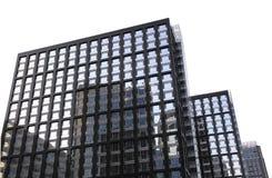 Κτίριο γραφείων με τις αντανακλάσεις Στοκ Φωτογραφία