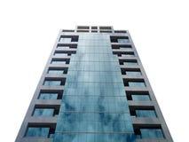 Κτίριο γραφείων που απομονώνεται Στοκ φωτογραφία με δικαίωμα ελεύθερης χρήσης