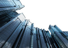 Κτίριο γραφείων πολυόροφων κτιρίων Στοκ εικόνα με δικαίωμα ελεύθερης χρήσης
