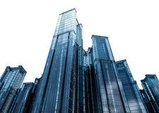 Κτίριο γραφείων πολυόροφων κτιρίων Στοκ Εικόνες