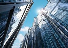 Κτίριο γραφείων πολυόροφων κτιρίων Στοκ φωτογραφία με δικαίωμα ελεύθερης χρήσης