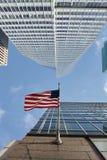 Κτίριο γραφείων πόλεων της Νέας Υόρκης Στοκ φωτογραφία με δικαίωμα ελεύθερης χρήσης