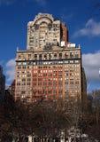 Κτίριο γραφείων πόλεων της Νέας Υόρκης Στοκ φωτογραφίες με δικαίωμα ελεύθερης χρήσης