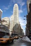 Κτίριο γραφείων πόλεων της Νέας Υόρκης Στοκ Εικόνες