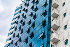 Κτίριο γραφείων στην Οδησσός στοκ εικόνα