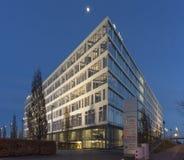 Κτίριο γραφείων στο Αννόβερο σε EXPO Plaza Στοκ εικόνες με δικαίωμα ελεύθερης χρήσης
