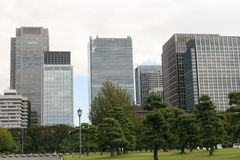 Κτίριο γραφείων του Τόκιο Στοκ εικόνες με δικαίωμα ελεύθερης χρήσης