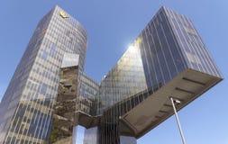 Κτίριο γραφείων του φυσικού fenosa αερίου Στοκ φωτογραφία με δικαίωμα ελεύθερης χρήσης