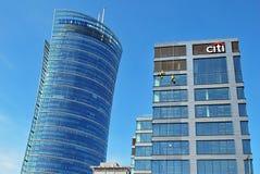 Κτίριο γραφείων τράπεζας Citi Στοκ Φωτογραφίες