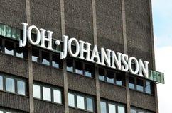 Κτίριο γραφείων Johansson Joh Στοκ Εικόνα