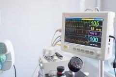 Κτηνιατρική μηχανή αναισθησίας Στοκ φωτογραφία με δικαίωμα ελεύθερης χρήσης