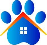 Κτηνιατρικό σπίτι προσοχής Στοκ Εικόνες