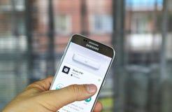 Κτυπά τα χάπια app Στοκ Εικόνες