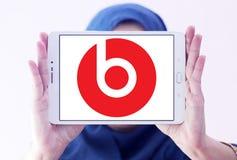 Κτυπά το λογότυπο ηλεκτρονικής Στοκ Φωτογραφίες
