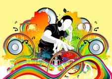 κτυπά το disco φοβιτσιάρες Στοκ φωτογραφία με δικαίωμα ελεύθερης χρήσης