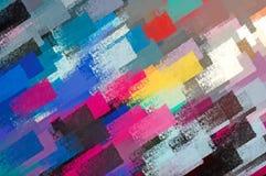 κτυπήματα χρωμάτων Στοκ Εικόνες