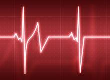 κτυπήστε την καρδιά Στοκ φωτογραφίες με δικαίωμα ελεύθερης χρήσης