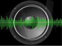 κτυπήστε τον ήχο Ελεύθερη απεικόνιση δικαιώματος