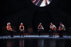 Κτυπήστε το ιρλανδικό τύμπανο-Ο ιρλανδικός εθνικός χορός βρυσών χορού Στοκ φωτογραφίες με δικαίωμα ελεύθερης χρήσης