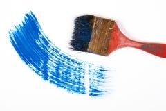 Κτύπημα βουρτσών χρωμάτων στοκ εικόνες με δικαίωμα ελεύθερης χρήσης