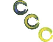 κτύπημα χρωμάτων πλαισίων Στοκ εικόνα με δικαίωμα ελεύθερης χρήσης