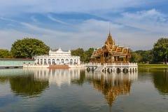 Κτύπημα PA αρχιτεκτονικής στο παλάτι Ταϊλάνδη Στοκ φωτογραφία με δικαίωμα ελεύθερης χρήσης