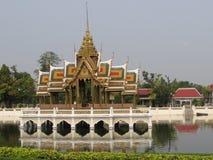 Κτύπημα-PA στη Royal Palace Ayutthaya Στοκ Φωτογραφίες