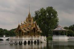 Κτύπημα PA στο παλάτι σε Ayutthaya Στοκ φωτογραφία με δικαίωμα ελεύθερης χρήσης