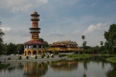 Κτύπημα PA στο παλάτι σε Ayutthaya Στοκ εικόνα με δικαίωμα ελεύθερης χρήσης