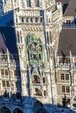 Κτύποι στην αίθουσα πόλεων του Μόναχου στοκ εικόνα με δικαίωμα ελεύθερης χρήσης