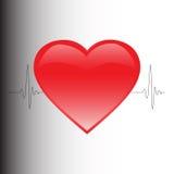 κτύπος της καρδιάς Στοκ φωτογραφία με δικαίωμα ελεύθερης χρήσης