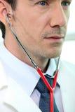 Κτύπος της καρδιάς ασθενή Στοκ εικόνες με δικαίωμα ελεύθερης χρήσης