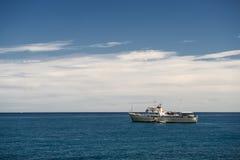 Κυανή ακτή στη Γαλλία, Ευρώπη Στοκ φωτογραφία με δικαίωμα ελεύθερης χρήσης