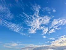κυανός ουρανός Στοκ Φωτογραφία