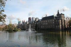Κυβέρνηση που χτίζει Binnenhof στο κέντρο της Χάγης, Κάτω Χώρες Στοκ εικόνες με δικαίωμα ελεύθερης χρήσης