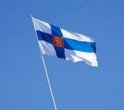 κυβέρνηση σημαιών της Φινλανδίας Στοκ Εικόνες
