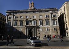 Κυβέρνηση της Καταλωνίας ή Generalitat de Catalunya Στοκ Φωτογραφία