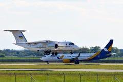Κυβέρνηση Antonov ένας-74 της Ουκρανίας Στοκ εικόνες με δικαίωμα ελεύθερης χρήσης