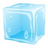 κυβίστε τον πάγο Στοκ φωτογραφία με δικαίωμα ελεύθερης χρήσης