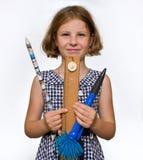 κυβερνήτης κοριτσιών Στοκ εικόνα με δικαίωμα ελεύθερης χρήσης