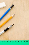 κυβερνήτης μολυβιών πεννώ Στοκ φωτογραφία με δικαίωμα ελεύθερης χρήσης