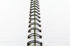 Κυβερνημένο έγγραφο με τις γραμμές στοκ φωτογραφία