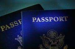 κυβερνητικά διαβατήρια Στοκ φωτογραφίες με δικαίωμα ελεύθερης χρήσης