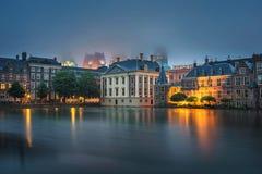 Κυβερνητικά κτήρια στο κέντρο της Χάγης, Κάτω Χώρες στοκ εικόνες