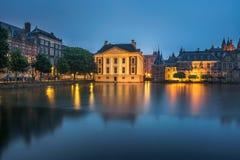 Κυβερνητικά κτήρια στο κέντρο της Χάγης, Κάτω Χώρες στοκ εικόνα με δικαίωμα ελεύθερης χρήσης