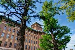Κυβερνητικό κτήριο νομαρχιακών διαμερισμάτων Kanagawa Στοκ φωτογραφία με δικαίωμα ελεύθερης χρήσης