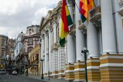 Κυβερνητικό παλάτι - πόλη Λα Παζ - Βολιβία Στοκ εικόνες με δικαίωμα ελεύθερης χρήσης