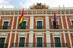 Κυβερνητικό παλάτι - πόλη Λα Παζ - Βολιβία Στοκ Φωτογραφίες