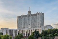 Κυβερνητικό παλάτι της Μόσχας Στοκ Εικόνες